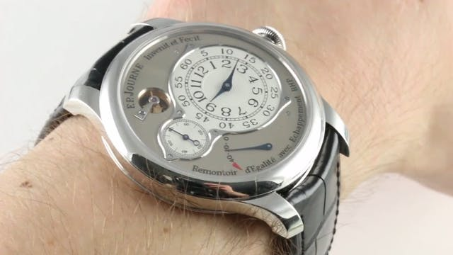 F.P. Journe Chronometre Optimum Plati...