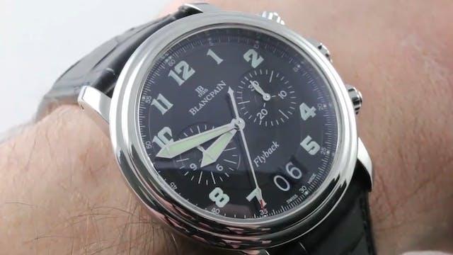 Blancpain Leman Chronograph Flyback G...