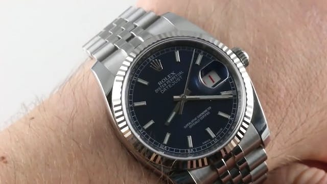 Rolex Datejust with Roulette Date (11...