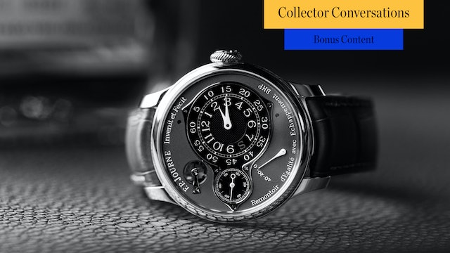 BONUS CONTENT - F.P. Journe, Philippe Dufour, and More with Mike Shani