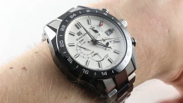 Grand Seiko Spring Drive GMT Chronogr...
