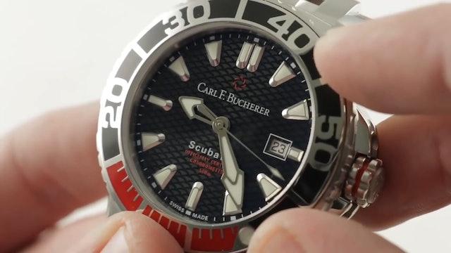 Carl F. Bucherer Patravi Scubatec Dive Watch 00.10632.23.33.22 Review