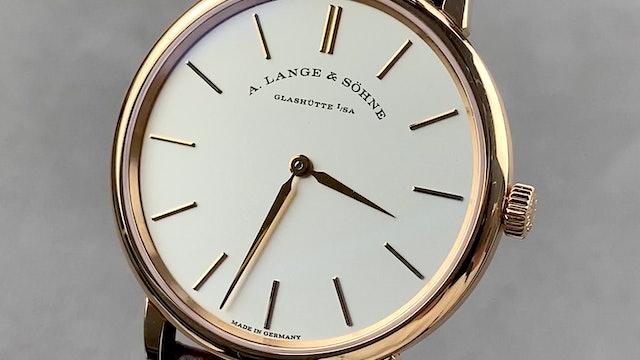 A. Lange & Sohne Saxonia Thin 201.033