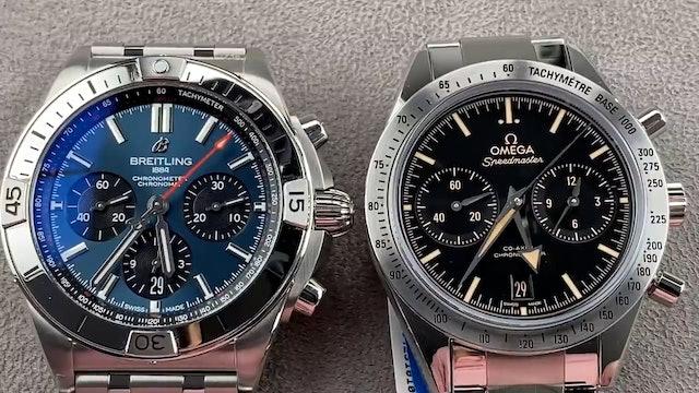 Omega Speedmaster '57 vs Breitling Chronomat B01 42mm