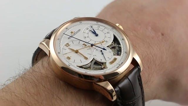 Jaeger Lecoultre Doumetre Chronograph...