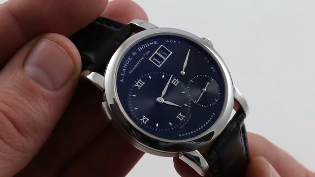 A. Lange & Sohne Lange 1 101.035 Review