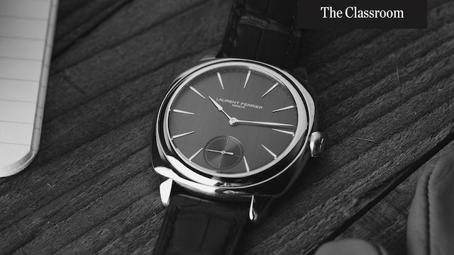 Breaking Down Independence in the Watch Industry