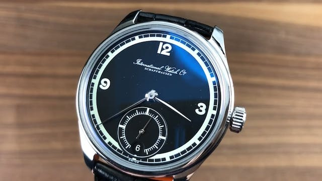 IWC Portuguese Hand Wound 8 Days 75th...