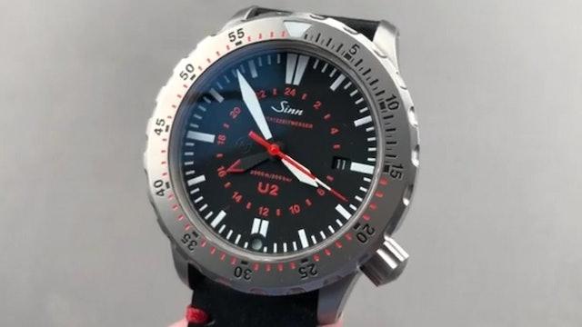 Sinn U2 GMT EZM 5 Diving Watch Mission Timer 1020.010 Review