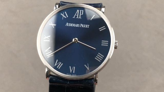 Audemars Piguet Ultra Thin Anniversary Edition 15116PT/O/0022CR/01 Review