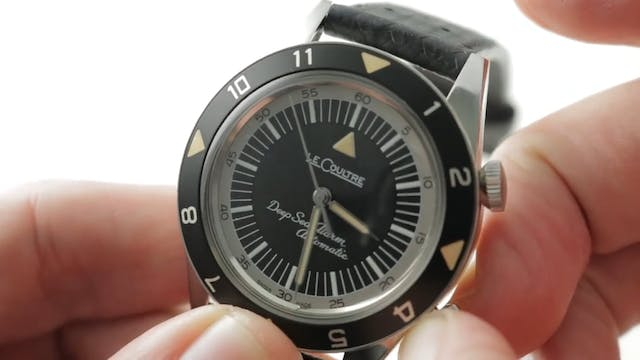 Jaeger Lecoultre Memovox Tribute To D...