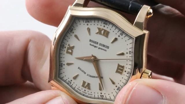 Early Roger Dubuis Sympathie 37 Geneva Hallmark Chronometer S37.57.5 Review