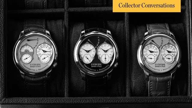 A Conversation with F.P. Journe Enthusiast Todd Searle