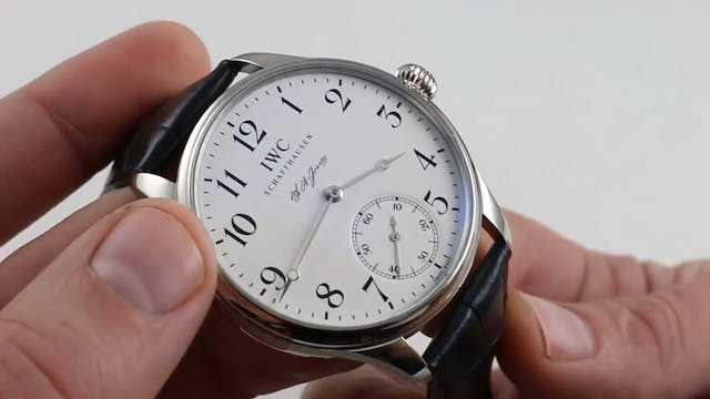 IWC Portugieser F.A. Jones Limited Ed...