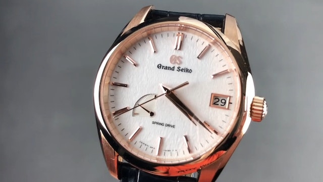 Grand Seiko Heritage Collection Spring Drive SBGA292 Review