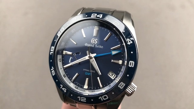Grand Seiko Sport Collection Spring Drive GMT SBGE255 Review