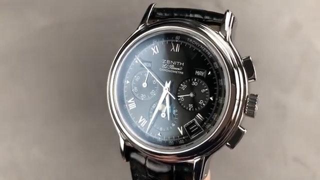 Zenith Chronomaster El Primero Triple Calendar 02.0240.410 21 Zenith Review