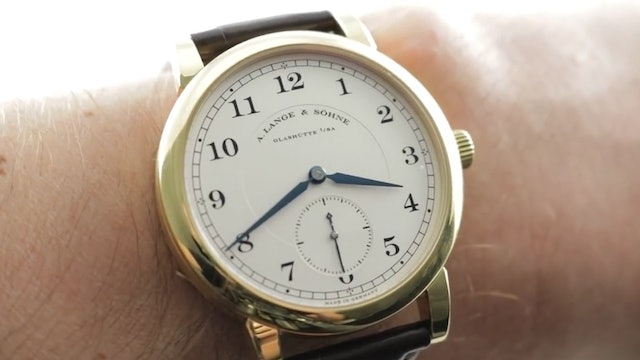 A. Lange & Sohne 1815 40mm (233.021) Review