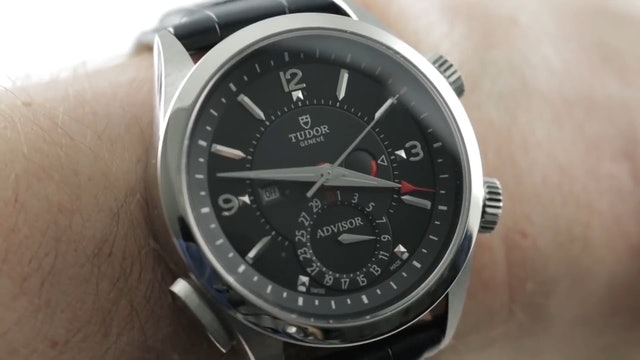 Tudor Heritage Advisor Alarm Watch 79620TN Review