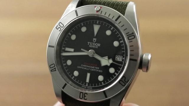 Tudor Heritage Black Bay Steel 79730-0004 Review