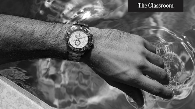 Understand the Water Resistance of Your Watch