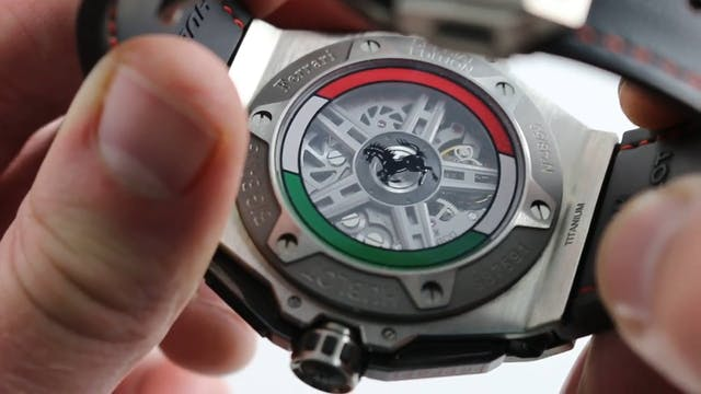 Hublot Big Bang Unico Ferrari Mexico ...