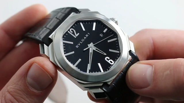 Bvlgari Octo Solotempo Ref.101964 Watch Review