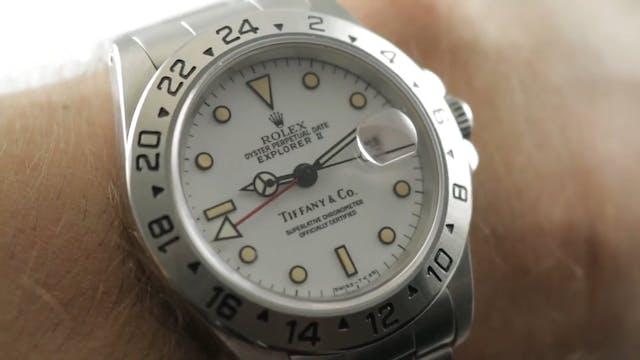 Rolex Explorer II Polar Tiffany Dial ...
