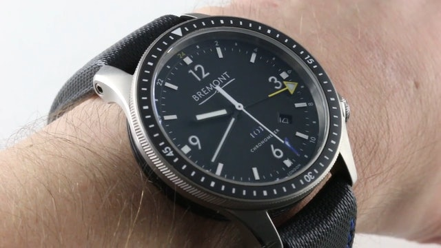 Bremont Boeing Model 1 GMT (BB1-TI-GMT/BK) Review