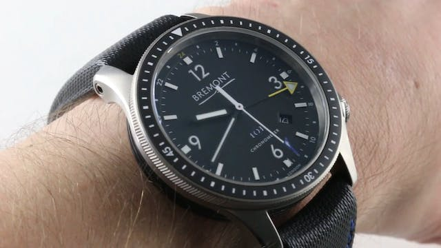 Bremont Boeing Model 1 GMT (BB1-TI-GM...