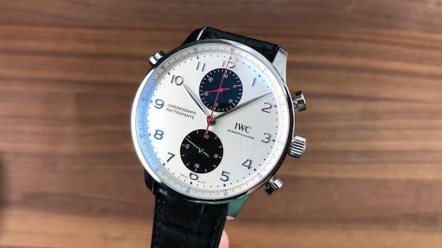 IWC Portugieser Chronograph Rattrapan...