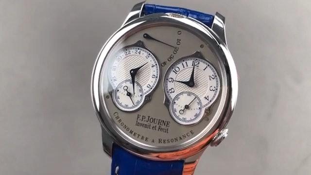 F.P. Journe Chronometre A Resonance Rt Pt 40 A Review