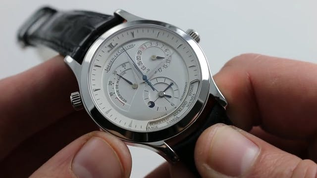 Jaeger Lecoultre Master Control Geogr...