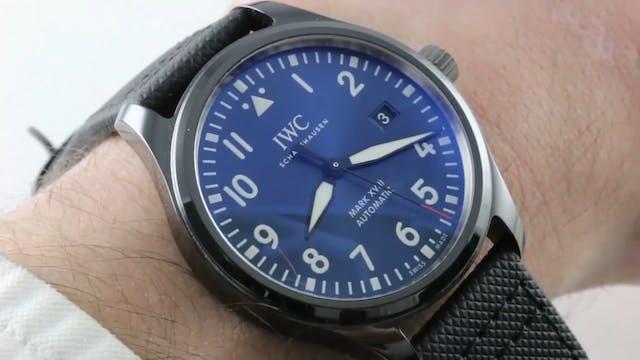 """IWC Pilots Watch Mark XVIII """"Laureus ..."""