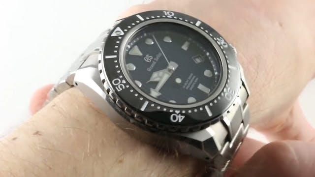 Grand Seiko Hi Beat 36000 Diver 600M ...