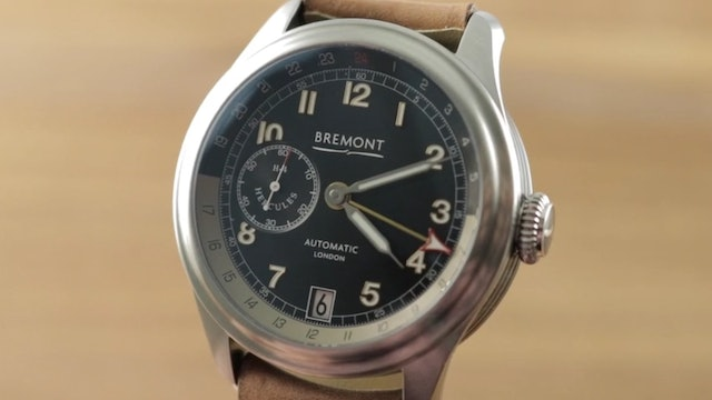 Bremont H 4 Hercules GMT Limited Edition Review