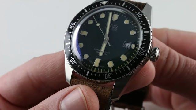 Oris Divers Sixty Five (0173377204057...