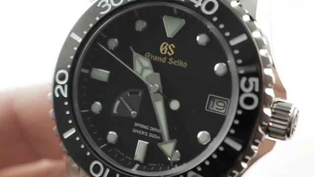 Grand Seiko Spring Drive Diver Titani...