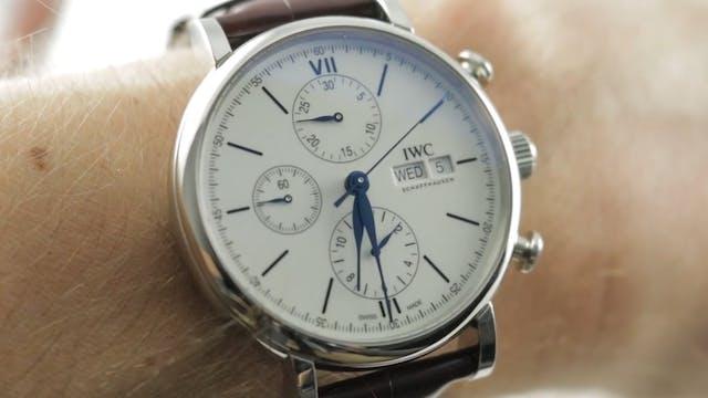 "IWC Portofino Chronograph ""150 Years""..."