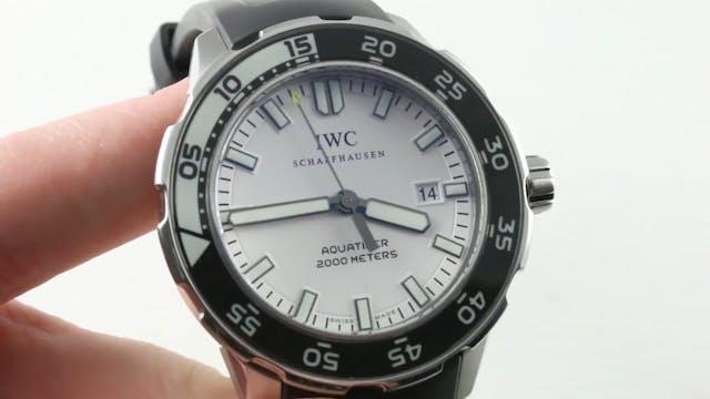 IWC Aquatimer 2000 IW3568-06 Review