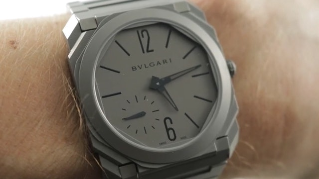Bulgari Octo Finnissimo Automatic Ultra Thin (102713) Review