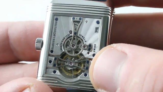 Jaeger Lecoultre Platinum Reverso Tou...