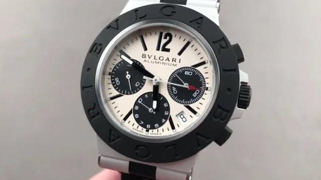 Bulgari Aluminium Chronograph 103383 ...