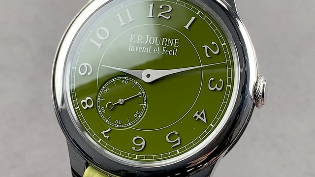 F.P. Journe Chronometre Souverain Dubai Limited Edition