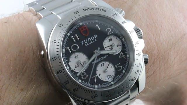 Tudor Sport Chronograph: Budget Rolex...