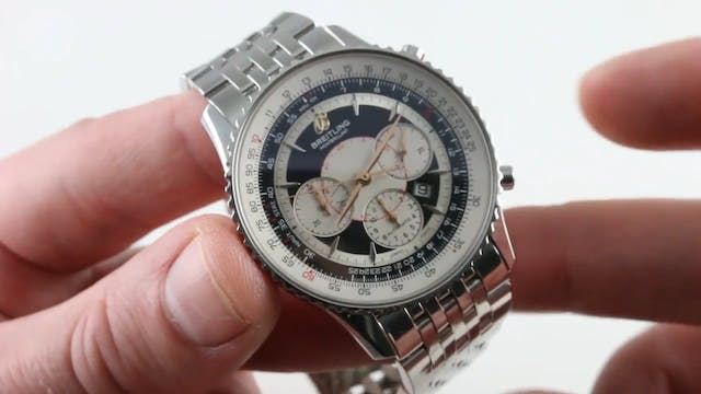 Breitling Montbrillant Chronograph A4...