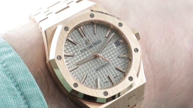 Audemars Piguet Royal Oak Mid Size Ni...