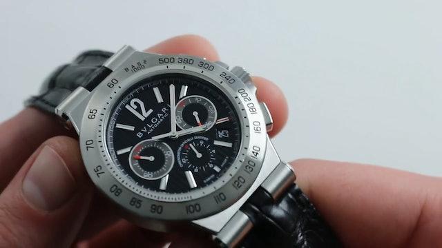 Bvlgari Diagono Pro Terra Chronograph Ref. Dp42Sch Watch Review