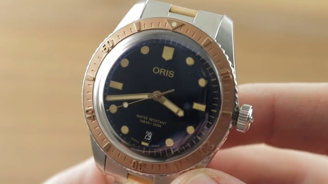 Oris Divers Sixty Five Bronze Stainless Steel 01 733 7707 4355 07 8 20 17 Dive