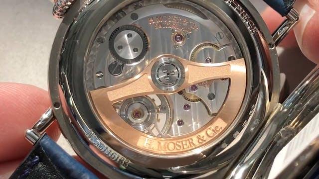 H. Moser & Cie Heritage Tourbillon: D...